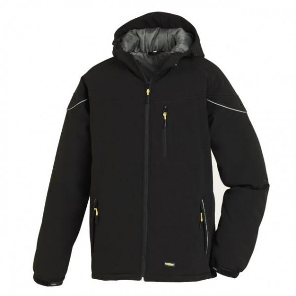Texxor Winter-Softshelljacke VAIL, schwarz, 4138