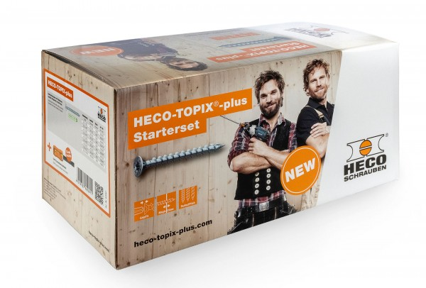 """AKTIONSPAKET HECO-TOPIX-plus Starterset """"Schreiner"""" 62061"""