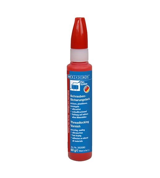 WEICON Schrauben-Sicherungslack 60 g, rot, 30020060