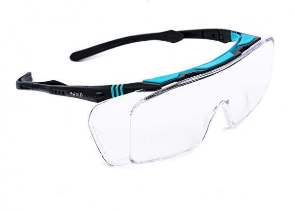 Infield® Safety Schutzbrillen Ontor PC HC UV, 9090 105