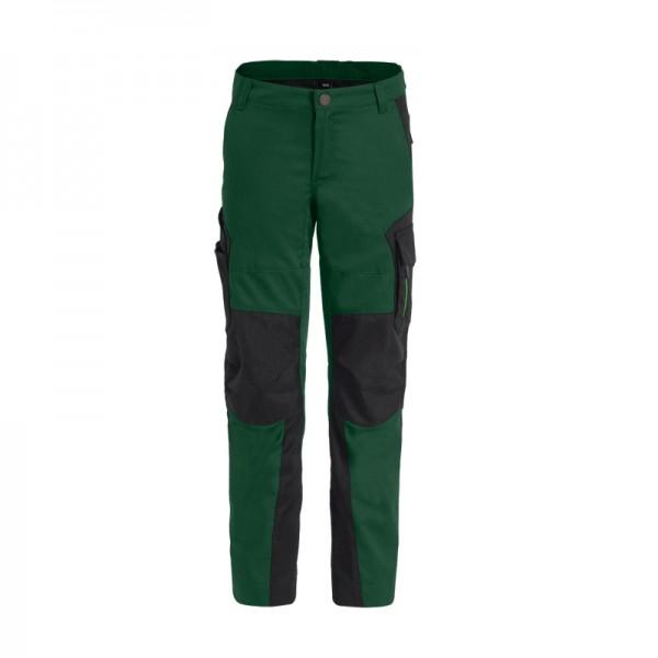 FHB HUGO Kinderhose 125500 2520-grün-schwarz