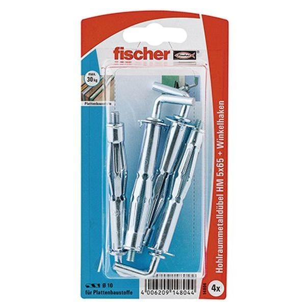 Fischer Hohlraum-Metalldübel HM 5x65 H K (4), 014804