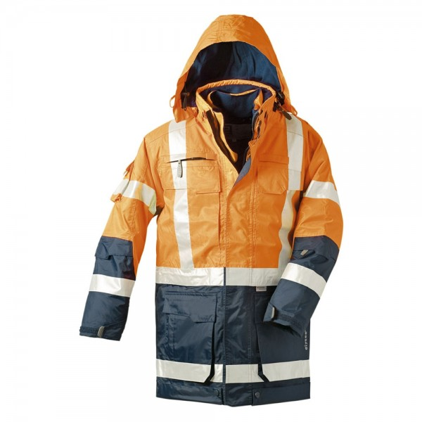 Elysee® Wallace Warnschutz-Parka orange/marine, 23431