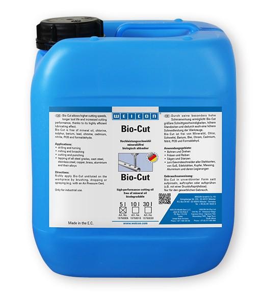 WEICON Bio-Cut 5 l Hochleistungsschneidöl, 15750005