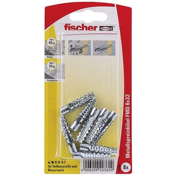 Fischer Metallspreizdübel FMD 6x32 K (8), 040360